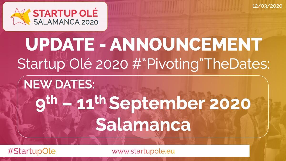 Finalistas en Startup Olé 2020